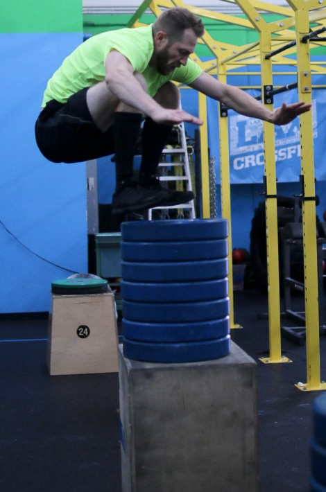 Max Box Jump Before